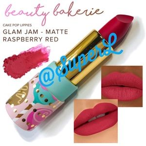 3/$15 Beauty Bakerie Cake Pop Lippies Glam Jam Red